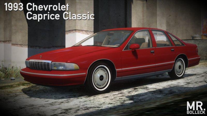 Gta 4 1993 Chevrolet Caprice Wheel 2 Mod Gtainside Com
