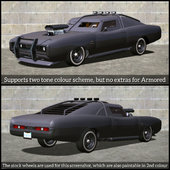 GTA V Style 1970 Dodge Charger R/T Pack for Android