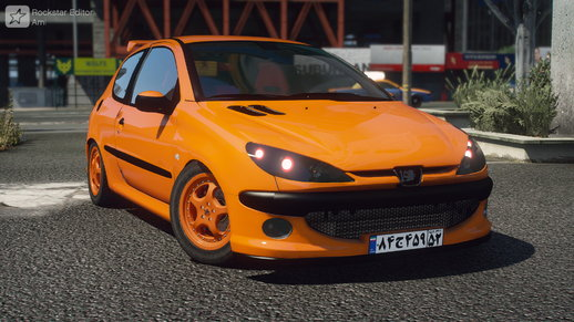 Peugeot 206GTi [ Add-On / Animate / Tuning]