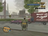 Bulletproof Cheetah for GTA lll Main Mission