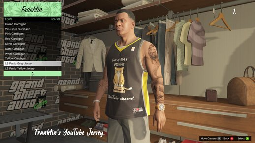 Franklin's YouTube Jersey