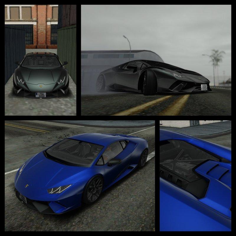 GTA San Andreas 2020 Lamborghini Huracan Performante Mod