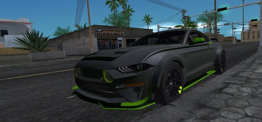 Ford Mustang RTR Spec 5 for Mobile