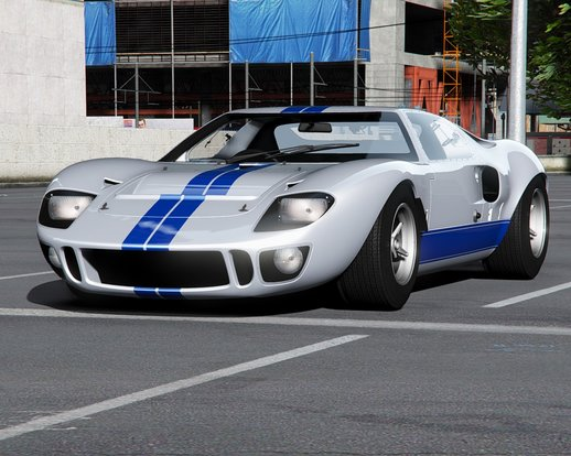 Ford GT40 MK I '64 [Add-On | Template | Extras]