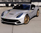 2012 Ferrari F12 Berlinetta [Add-On | Template]
