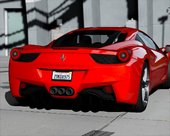 2010 Ferrari 458 Italia [Add-On | Tuning | Extras | Template]