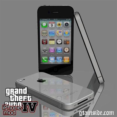 iPhone IV mod