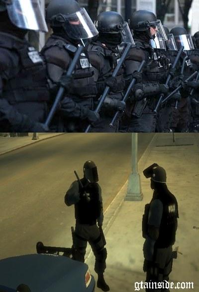Riot Police Mod