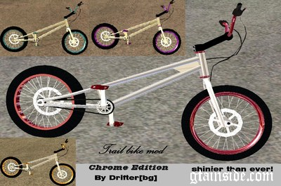 Trail Bike Chrome