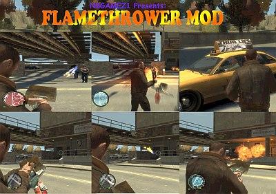 Thuglife Flamethrower Mod