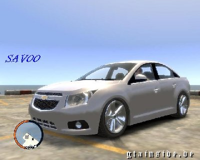 GTA  IV Chevrolet Cruze Chevrolet_cruze