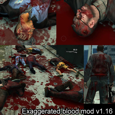 Exaggerated blood mod v1.16