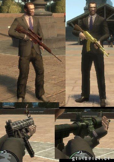 پک های اسلحه Waffenskins