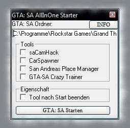 GTA: SA AllInOne شروع کننده (AIOS)