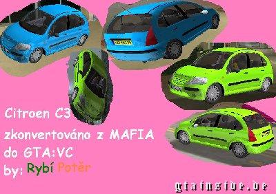 [Mods GTA Vice City]Carros - Vários CitroenC3VC