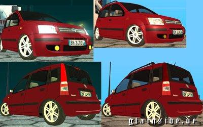 GTA SA Mod : FIAT Panda 2005