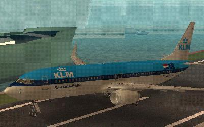 KLM Boeing 737 800 Skin