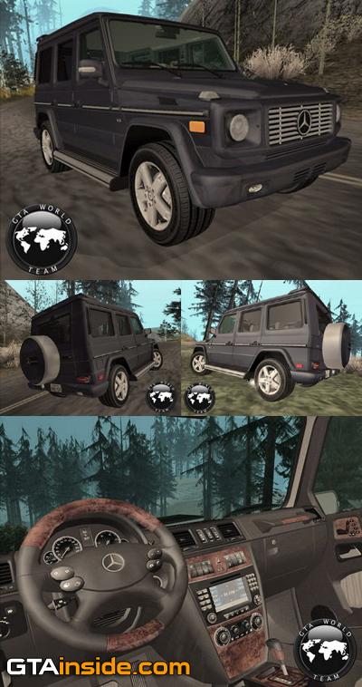 [Mods GTA San Andreas]Carros - Mercedes-Benz Mercedes_Benz_G500_(W463)_2008