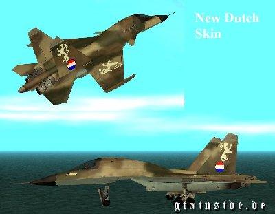 Sukhoi SU-34 Dutch/Nederlandse Skin