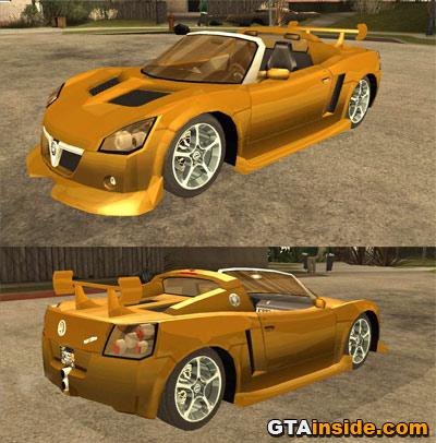 opel speedster. GTAinside.com - GRAND THEFT
