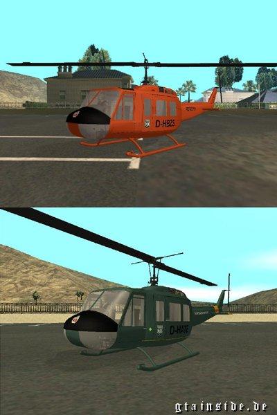 Bell UH-1D Slick Skins