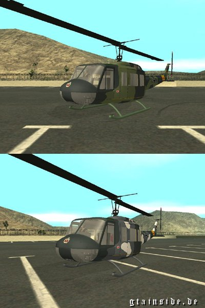 Bell UH-1D Slick Skins v.2