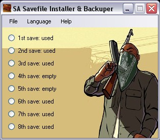 SA Savefile Install & Backup