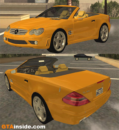 [Mods GTA San Andreas]Carros - Mercedes-Benz Sl65_V12biturbo_Impostor