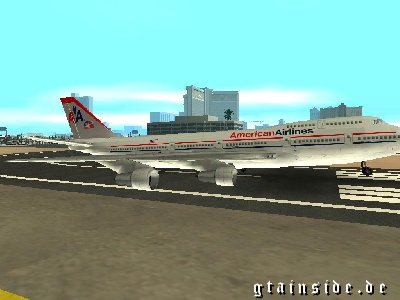 B-747 American Airlines Skin