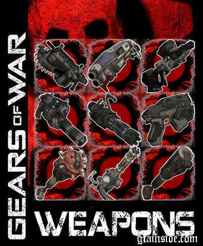 Gears of War Weapons