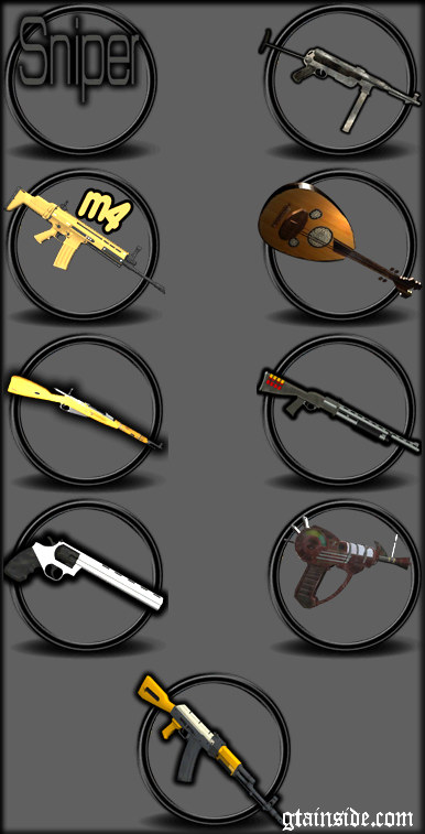 2011 Gun Pack by ALM6RFY