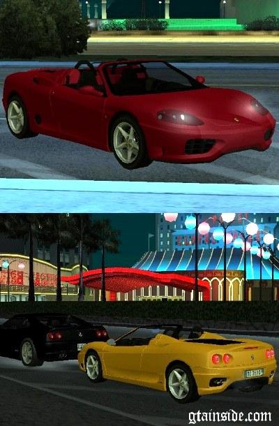 اموزش سلاح سرد Ferrari 360 Spider