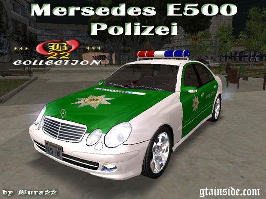 Mercedes Benz E500 Polizei