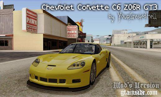 Chevrolet Corvette C6 Z06R GT3 v1.0.3