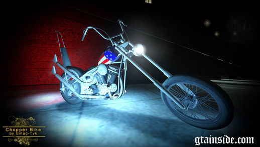 Chopper Bike Captain America