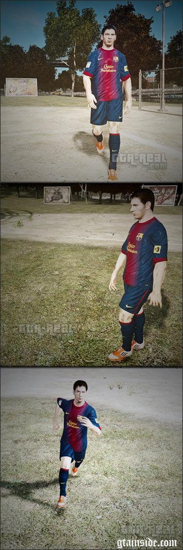 Lionel Messi Skin