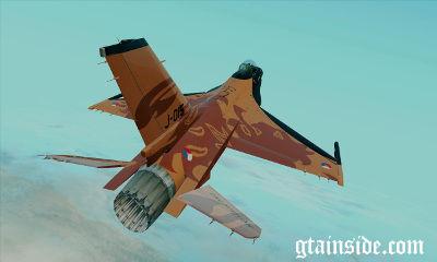 لاکهید مارتین F-16C مبارزه با فالکون (اورنج شیر)