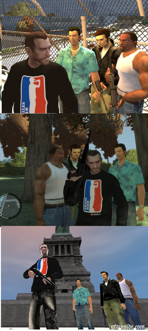 GTA Characters Beta