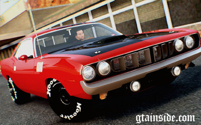 Plymouth Cuda 1971 Paintjob by eXTaron