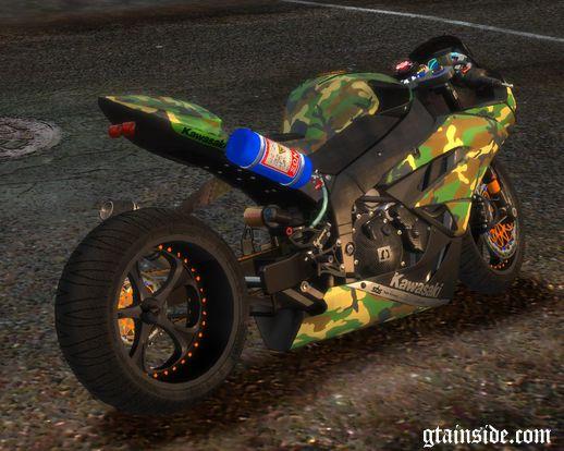 Kawasaki Ninja ZX-6R (Ruff Ryders/stock)