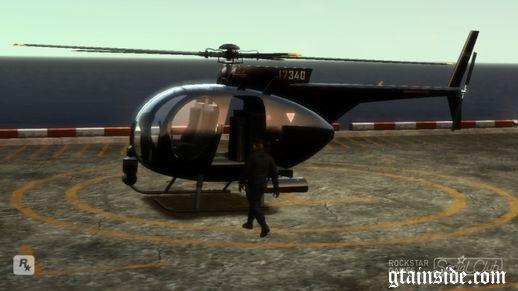 Buzzard for GTA 4 Original