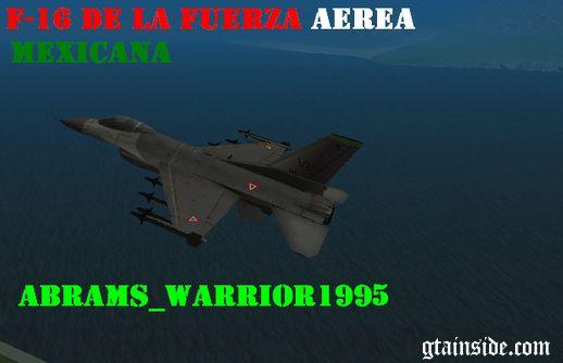 F-16 د لا fuerza aerea mexicana