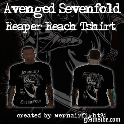 Avenged Sevenfold Reaper Reach T-Shirt