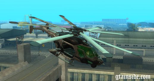 Crysis 2 C.E.L.L. Helicopter