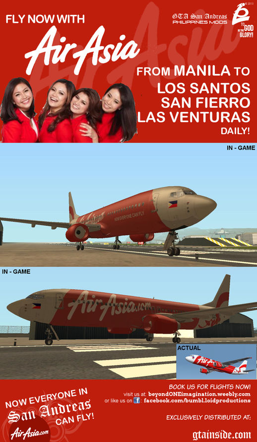 Boeing 737 800 - AIR ASIA PHILIPPINES
