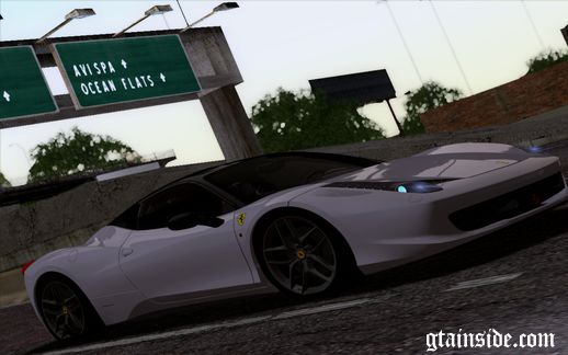 2011 Ferrari 458 Italia Horizon