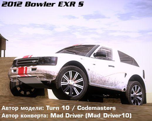 Bowler EXR S 2012