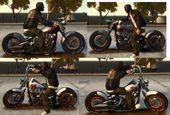 Harley-Davidson Knucklehead (Bobber) v2