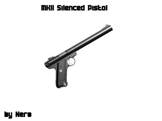 Weapon  MKII Silenced Pistol  GTA San Andreas Indonesia