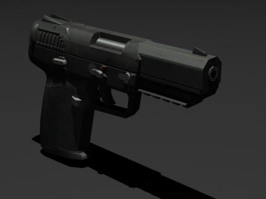Senjata Gta San Andreas Indonesia FN Five-seven
